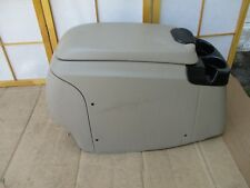 99-07 Ford F250 F350 Pickup Center Floor Drink Cup Holder Storage Console TAN