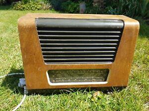 Vintage Ferguson 209A 1940's Valve Radio