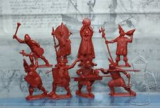 Plastic Toy Soldiers American Conquest  Incas warriors set 4  NEW!!! 1/32 54 mm