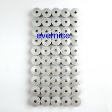 Complete Flat Aluminum Bobbins For Tin Lizzie 18 Hq16 18 A-1 Pfaff P3 Power Quil