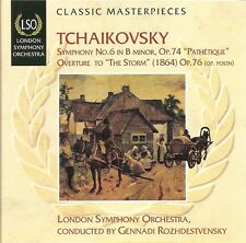 "Tchaikovsky - Symphony No.6 ""Pathétique"" • Overture to ""The Storm"""