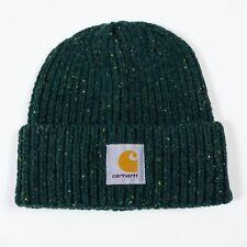 Carhartt WIP Anglistic Beanie Hat - Bottle Green