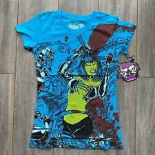 Iron Fist Babylon azul eléctrico Ladies TShirt (S)