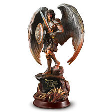 St Michael Archangel Angel Strength of the Lord Divine Word Sculpture Figurine