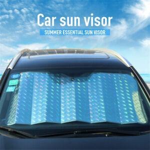 140x70CM Folding Front Car Window Sun Shade Auto Visor Windshield Block Cover