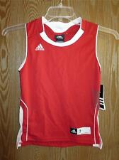 New w/Flaw Wisconsin Badgers Kids Large L (Size 7) Adidas Team Jersey 58Mk