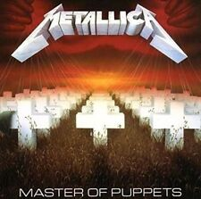 Metallica Master of Puppets High Quality 180 Gram Vinyl LP Blackened