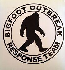 Hoodie Sweatshirt Pull-over - BIGFOOT Outbreak Response Team- Design Choice