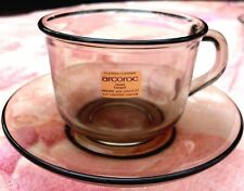 New Retro (NU) ARCOROC France CAFE Classic COFFEE CUP & SAUCER Kitchen - in AUST