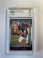 2001 Bowman Drew Brees Rookie BCCG 9 Graded