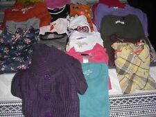 lot de vêtements fille du 4 au 8ans de 39 pièces