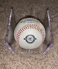 Chicago Cubs Game Used Baseball - 2016 Century Of Cubs - WS Season MLB Hologram