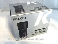 New PENTAX-D FA MACRO 100mm f2.8 WR 1:1 Autofocus Lens K-mount Pentax D FA