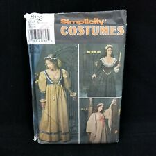 Medieval Dress Sewing Pattern Womens Plus Size Renaissance Historical Costume