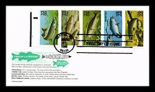 DR JIM STAMPS US FISH BOOKLET PANE COMBO UNSEALED FDC COVER ARISTOCRAT