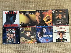 Bulk Lot Of Movies On Laserdisc