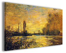 Quadro moderno Claude Monet vol XVII stampa su tela canvas pittori famosi