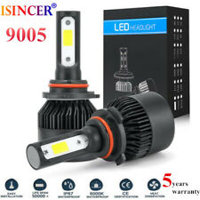 9005 CREE LED Headlight Kit 1500W 255000LM HB3 Hi-Low Beam Bulb High Power 6000K