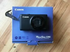 Canon PowerShot S95 10.0MP Digital Camera Black FOR PARTS DEAL NIKON CANON S110