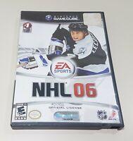 Nintendo GameCube NHL 06 ~ w/ Game + Case + Instructions