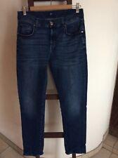 """CROSS Damen Jeans /""""M-452-006/""""  Boyfriend  W26-W30  L30 blau  NEU mit Etikett"""