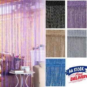 Door Curtain Bead String Fly Screen Panel Room Tassel Decoration Divider Window