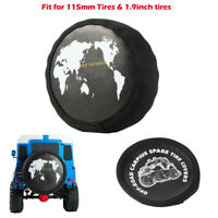 Spare Tire Dustproof Cover for 1.9in Wheels 1/10 RC Crawler SCX10 D90 Trx4 CC01