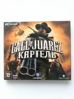 Call of Juarez: The Cartel PC Russian Cover Jewel Case Brand New Sealed