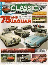 CLASSIC & SPORTS CAR 25 JAGUAR TYPE E 4.2 FERRARI 365 GTS/4 DAYTONA SPIDER