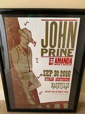 John Prine poster Ryman Hatch Nashville 2016