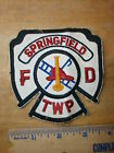 SPRINGFIELD TOWNSHIP OHIO FIRE DEPARTMENT PATCH Firefighter Rescue Fireman