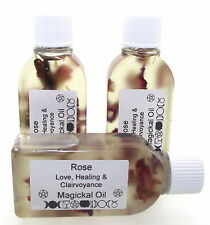 25mls ROSA Sacred Unción Tradicional infusión de Hierbas Aceite Botánico