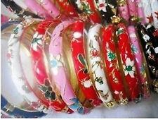 10pcs Vintage Enamel Cloisonne Bangle Bracelet