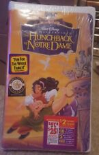 NEW SEALED Disney Masterpiece The Hunchback of Notre Dame FAMILY VIDEO VHS 1997