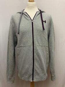 Mens | Under Armour Storm Water Resistant Zip Through Hoodie | Grey | Size L