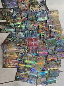 Lot de 25 Cartes Pokemon Gx Vmax V Mega Ex Francaise (lire la Description)