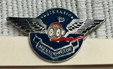 More details for vintage authentic major dweebie pin wings enamel badge collectors rare uk lovely