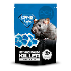Lodi Sapphire Paste Bait Rat and Mouse Killer Poison Single Feed