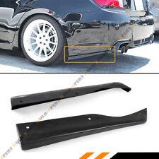 For 11-14 Subaru Impreza WRX Sti CS Style 2pc Rear Bumper Aprons Spats Splitters