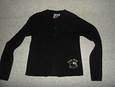 Taille 10 ans magnifique gilet noir HELLO KITTY EXCELLENT ETAT