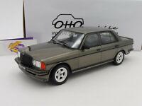 """Ottomobile OT750 # Mercedes Benz W123 AMG 280 Baujahr 1978 """" graumetallic """" 1:18"""