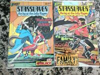 Starslayer #11 and #13 **TWO ISSUE LOT** (First 1982 Series) 2nd App. Grimjack