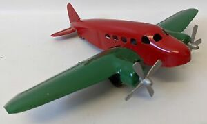 "Restored Vintage WYANDOTTE Pressed Steel #204 AIRPLANE Plane Toy, 13"" Wingspan"