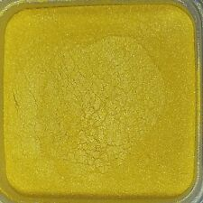 1oz Natural Flashy Gold Mica Pigment Powder Soap Making Cosmetics - 1 ounce