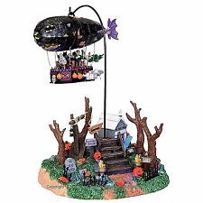 Lemax 04174 DREADED ZEPPELIN Spooky Town Table Accent Animated Halloween Piece I