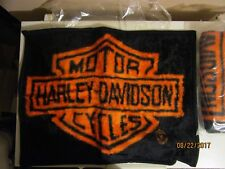 Harley Davidson Pillow Sham Fleece Authentic Hd Standard Size.   2 Brand New