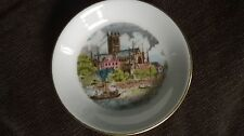 Pretty bone china pin/trinket dish by Kay & co Ltd for Royal Worcester