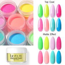 Fluorescente De Uñas lilycute 5g polvo seco natural efecto de neón de inmersión para Arte en Uñas Hazlo tú mismo