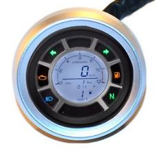 Motocicleta, Digital, km/h, MPH, odómetro, tacómetro, Calibre, Chop, Trike, Streetfighter,
