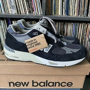 New Balance 991 M991NV UK 11 US 11.5 Trainers Sneakers